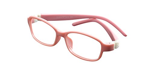 De Ding Kids Flexible Eyeglass Frames (pink)