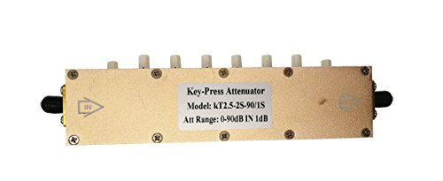 5W SMA Coaxial RF Stepping Adjustable Key-Press Attenuator DC-2.5GHz 0-90dB KT2.5-90 by Ohestish (Image #6)