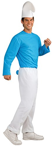 Rubie's Men's Adult Costume, Smurfs: The Lost Village Standard