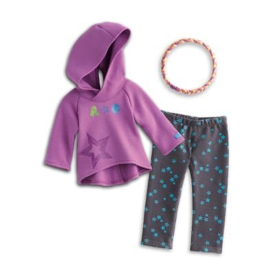 American Girl Starry Hoodie Outfit for Dolls - Truly Me 2015