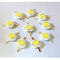 Project Hub™ -1-Watt High Power LED Diodes 3.4V for Spot Flood Light (Pack of 50)