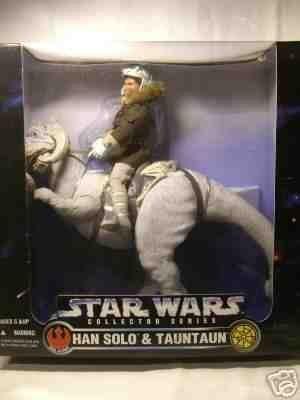 Star Wars - 12 Inch Hoth Han Solo And Tauntaun - Mint In Box Bnib -
