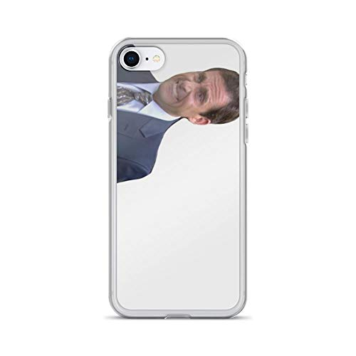 iPhone 7 Case iPhone 8 Case Clear Anti-Scratch Michael Scott Cover Phone Cases for iPhone 7/iPhone 8, Crystal Clear -