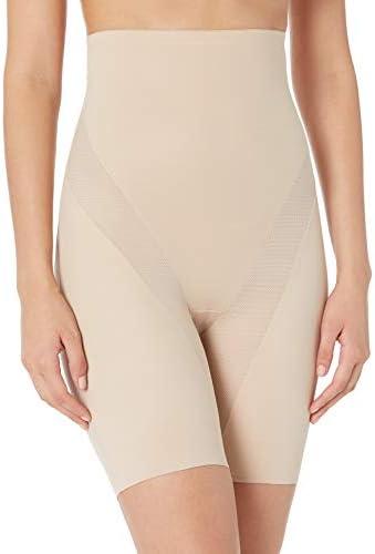 Naomi & Nicole Women's Cool and Comfortable Hi-Waist Thigh Slimmer Shapewear