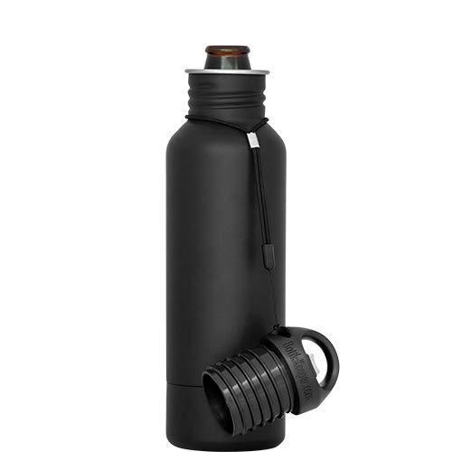9690573e81e8 BottleKeeper - The Standard 2.0 - The Original Stainless Steel Bottle  Holder and Insulator to Keep Your Beer Colder (Black)