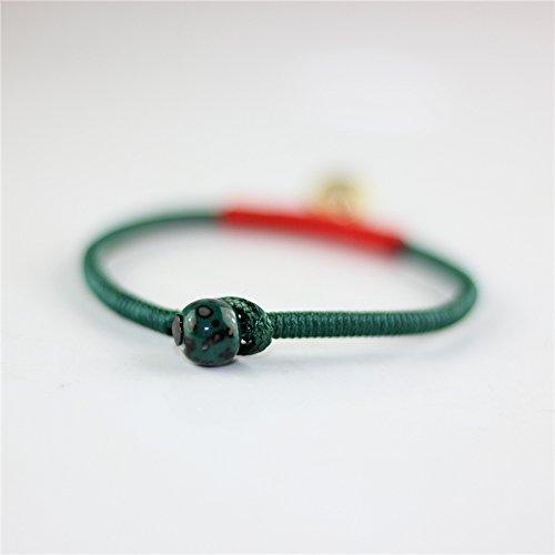 Handmade ly red string bracelet national wind retro minimalist bells student girlfriends lovers handmade trinkets
