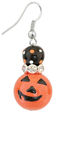 Clementine Design Kate & Macy Pumpkin Patch Earrings Painted Glass - Macy's Crystal Glasses