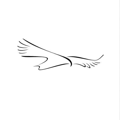 Big Flying Bird Artistic Sketch Wiederverwendbare Schablone Big Größe Animal Animal Animal Style   Kids142, Selbstklebende Folienschablone, XL Größe 100 x 280 cm - 39.4 x 110.2 in B07N1QQM2J | Produktqualität  ae0705