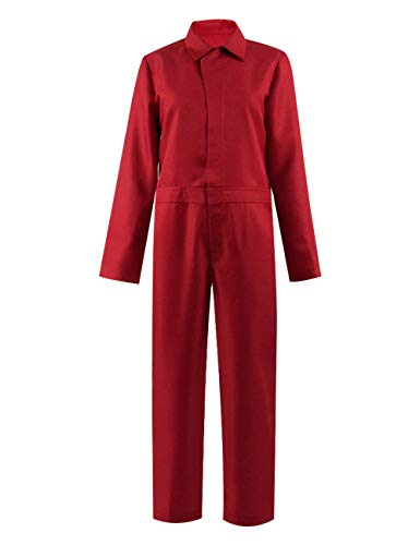 (Us Adelaide Costume red Jumpsuit for Women Halloween Costume Cosplay (XL,)