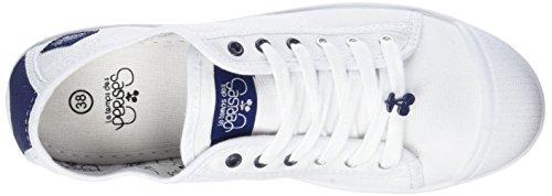 Le Temps des Cerises Basic 02 Sport - Botas Mujer Blanc (Sport Navy)