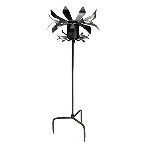 Achla Designs Petals Gazing Globe Ball Stand (Ball Stands Gazing Metal)