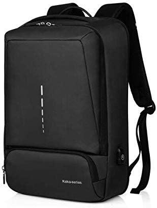 QOHNK Casual Unisex Mochila Hombre Business Pack Adolescente Escuela Estudiante Mochila Paquete de Gran Capacidad para 15.6 Pulgadas Laptop: Amazon.es: Equipaje