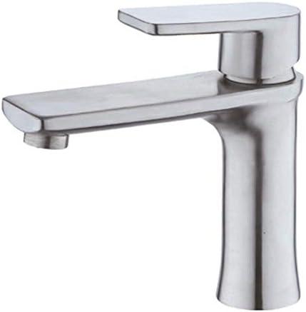 guomao ステンレス鋼の洗面器の蛇口の浴室の蛇口の滝の単一のハンドルの単一の穴の浴室の流しのコック
