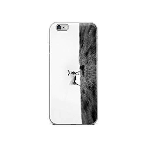 (iPhone 6/6s Case Anti-Scratch Creature Animal Transparent Cases Cover Ferdinand Animals Fauna Crystal Clear)