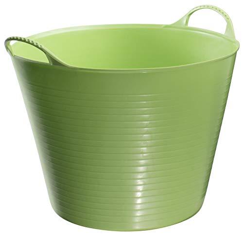 (TubTrug SP14PST Small Pistacio Flex Tub, 14 Liter)