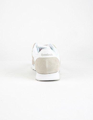 Los Hombres De Reebok Cl Zapatos Blancos De Nylon De Funcionamiento (100) Geniue Stockist en línea El mejor lugar barato en línea Explore para la venta Outlet Manchester xAS4JQqFt