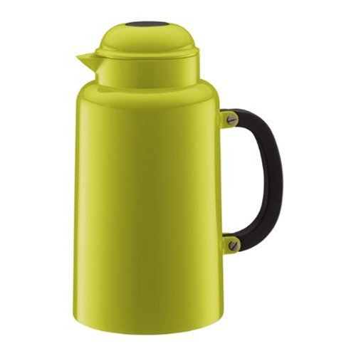 Bodum Chambord 34-Ounce Thermo Double Wall Vacuum Carafe, Lime (Coffee Bodum Vacuum)