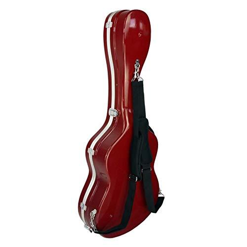 Estuche ABS para Guitarra Clásica, Cibeles (Rojo Brillante)