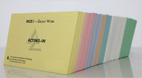 AATBS NCE National Counselor Exam Color Coded Flashcards
