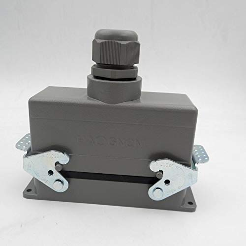 Gimax HDC-HE-024-2 Heavy Load Connector Rectangle Plug 24 Core 16A Aviation Plug Top Outlet