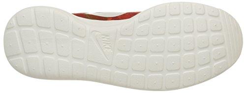 Nike Roshe One Print, Scarpe Sportive, Uomo Cinnabar/Sail-hay-total Orange