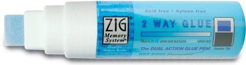 EK Success Zig Carded Jumbo Tip 2-Way Glue