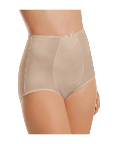 Leonisa Women 's Smooth Tummy Control Panty Shaper,Beige,Medium
