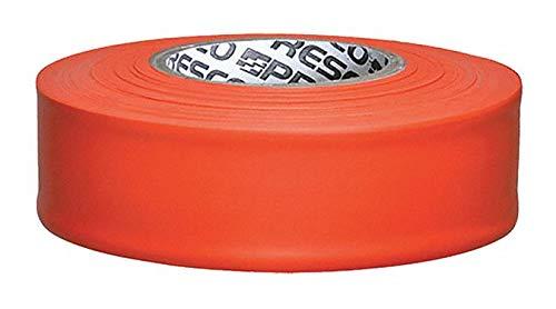 PRESCO PRODUCTS CO TFO-200 Taffeta Flagging Tape,Orange,300 ft