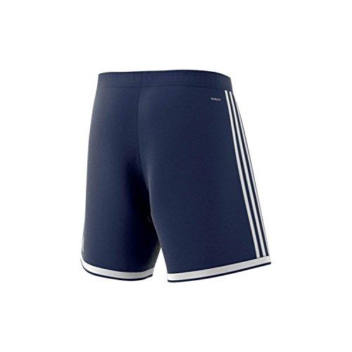 Adidas REGISTA 18 SHO - Pantalón corto, Hombre, Rojo(ROJPOT/BLANCO) AZUOSC/BLANCO