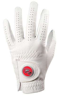 Western Kentucky Hilltoppers Golf Glove & Ball Marker – Left Hand – X Large   B00BFLG9W6