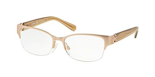 Michael Kors TABITHA VI MK7006 Eyeglass Frames 1073-52 - Satin Rose Gold/taupe Glitter