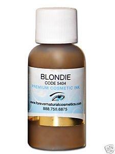 Blondie Permanent Cosmetics Pigment 1/2oz Bottle