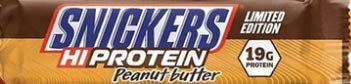 Snickers Ltd Edition Peanut Butter Hi-Protein Bar (1 Box - 12 Bars)