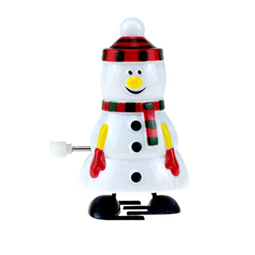 BESTOYARD Christmas Wind Up Toys Snowman Wind Up Toys Xmas Gift Supplies for Kids(Snowman)