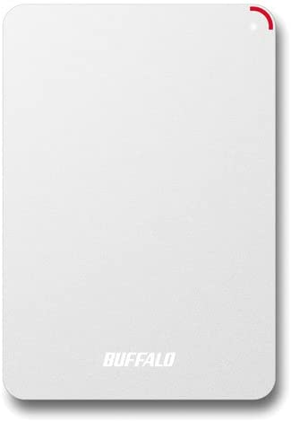 BUFFALO 耐衝撃対応 2.5インチ外付けHDD 4TB ホワイト HD-PSF4.0U3-GW