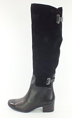 Caprice 7140 Leder Stiefel Schwarz Schwarz