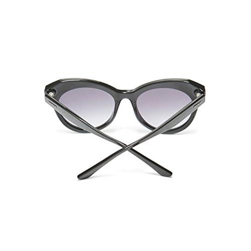 ef8645b67e Guess - Gafas de sol - para mujer Negro negro brillante Medium 80% OFF