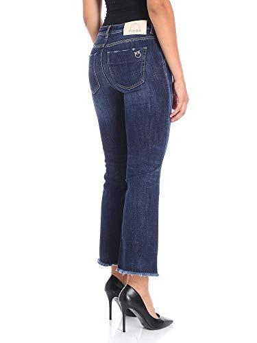 Pinko 1G13NQY4QMG08 Coton Jeans Bleu Femme razp6rS