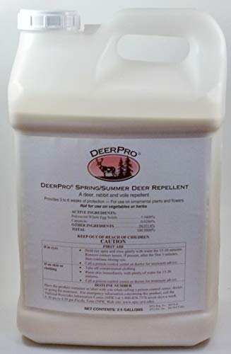 DeerPro Spring/Summer Animal Repellent - 2.5 Gal. Concentrate, Makes 20 Gal. Mixed Spray ()