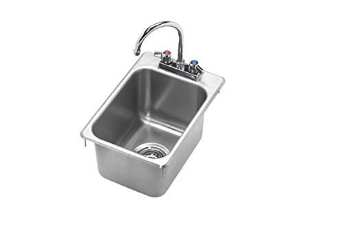 Krowne, Model Hs-1419; Krowne Drop-In Hand Sink, 1 Compartment by Krowne by Krowne