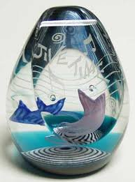 Caithness Crystal Jive Time Paperweight