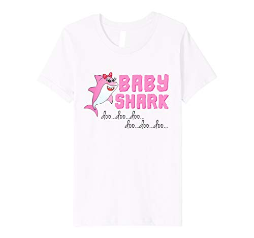 Kids Baby Shark Doo Doo for Toddler Girl Matching Shirt by Design with Love Family Matching Shirt