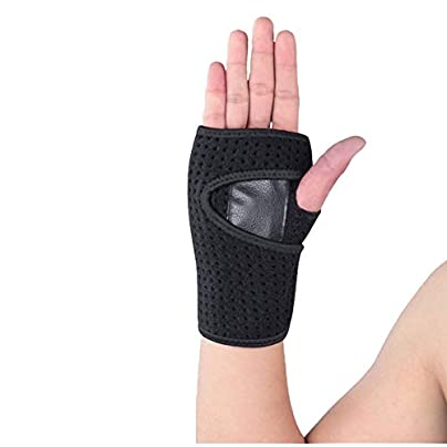 MXDCYHW Wrist Support Wrist Wraps Sports Wristband Wrist Sprain Fixed Support Protective Cover Palm Protection Protective Gear two Packs Estimated Price £20.37 -