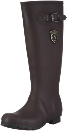Kamik Women's Jennifer Rain Boot,Dark Brown,6 M US by Kamik