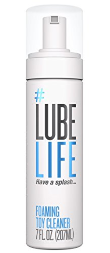 #LubeLife Foaming Anti-Bacterial All purpose Toy Cleaner, 7 Oz
