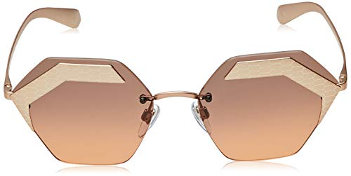 Bulgari 6077 Gafas de sol, Pale Gold, 59 Unisex-Adulto ...