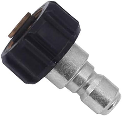 TOOGOO Hoch Druck Reiniger Twist Anschluss M22 14 mm x 3//8 Zoll Schnell Kupplungs Stecker Hoch Druck Schnell Kupplungs Nippel mit B-Kupplung 5000 Psi Twis281