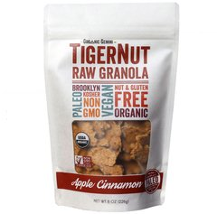 TigerNut Raw Granola (Apple - Cinnamon, 1 x 8oz)