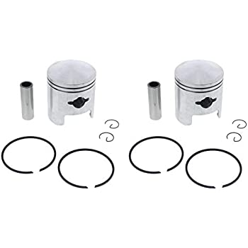 Race Driven Piston Kit X2 for Arctic Cat Bearcat 340 Cheetah Jag Deluxe 3000 FA FC Mountain Cat Panther Puma 2 Up Lynx