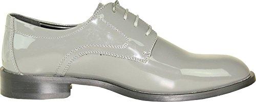 ville Tab de à lacets Chaussures Vangelo gris pour homme Motifs gris dEtWPqd
